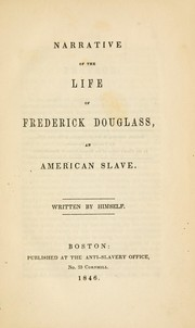 the subject of slavery in the narrative of the life of frederick douglass an american slave