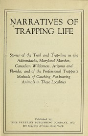 Cover of: Narratives of trapping life |