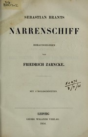 Cover of: Narrenschiff
