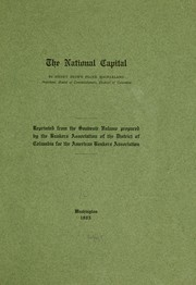 Cover of: The national capital | Henry Brown Floyd Macfarland