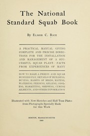 Cover of: The national standard squab book