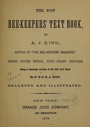 Cover of: The new bee-keepers' text-book