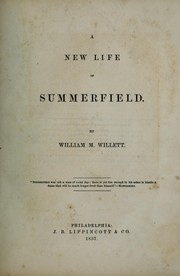 Cover of: A new life of Summerfield