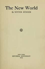 Cover of: The new world
