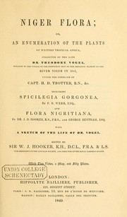 Cover of: Niger flora | Hooker, William Jackson Sir