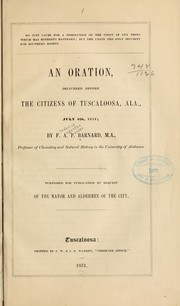 Cover of: No just cause for a dissolution of the Union in any thing which has hitherto happened