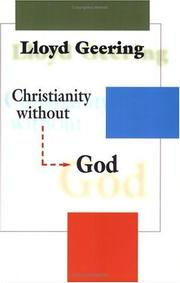 Cover of: Christianity without God | Lloyd Geering