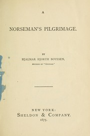 Cover of: A Norseman's pilgrimage