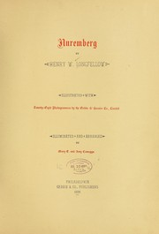 Nuremberg by Henry Wadsworth Longfellow