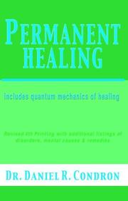 Cover of: Permanent healing