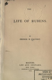 Cover of: The life of Rubens