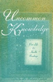 Cover of: Uncommon knowledge