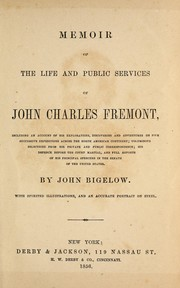 Cover of: Memoir of the life and public services of John Charles Fremont