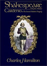Cover of: Cardenio, or, The second maiden's tragedy