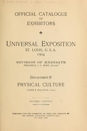 Cover of: Official catalogue of exhibitors