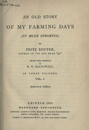 Cover of: An old story of my farming days