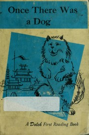 Cover of: Once there was a dog | Edward W. Dolch