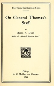 Cover of: On General Thomas