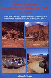 Cover of: River Guide to Canyonlands National Park and Vicinity