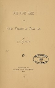 Cover of: Oor kirk fair and ither verses of that ilk