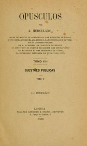 Cover of: Opusculos