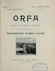 Cover of: Orfa