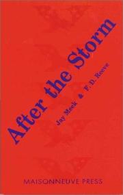 Cover of: After the storm |