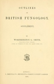 Cover of: Outlines of British fungology. Supplement