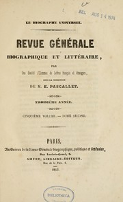 Cover of: Biographie politique de M. A. de Lamartine