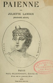 Cover of: Païenne