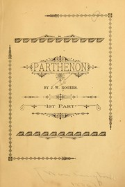 Cover of: Parthenon