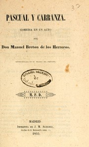 Cover of: Pascual y Carranza