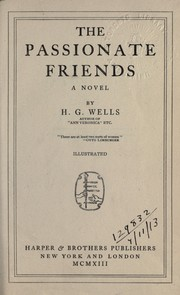 Cover of: The passionate friends, a novel