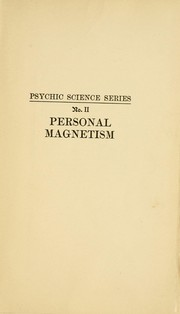 Cover of: Personal magnetism | Warman, Edward Barrett