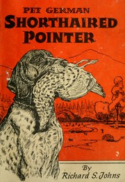 Cover of: Pet German shorthaired pointer