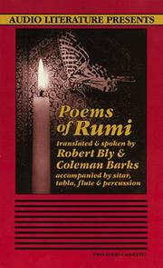 Cover of: Poems of Rumi