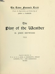Cover of: The play of the weather