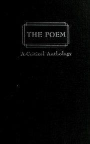 Cover of: The poem | Josephine Miles