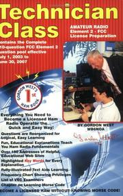 Cover of: Technician Class Element 2 FCC License Preparation