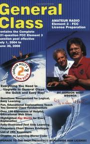 Cover of: General Class FCC License Preparation for Element 3 General Class Theory