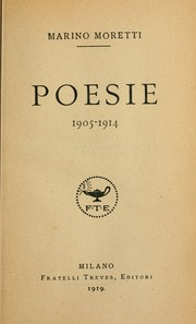 Cover of: Poesie, 1905-1914
