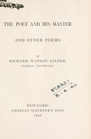Cover of: The poet and his master, and other poems