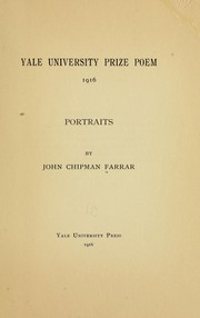 Cover of: Portraits