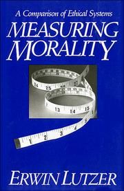 Cover of: Measuring morality