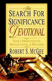 Cover of: The Search for Significance Devotional