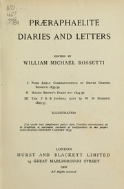Cover of: Præraphaelite diaries and letters