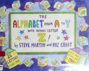 Cover of: The alphabet from A to Y with bonus letter, Z!