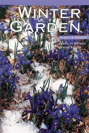 Cover of: The Winter Garden (Plants & Gardens Series) | Erica Glasener
