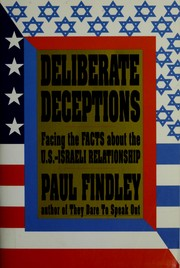 Cover of: Deliberate deceptions | Paul Findley