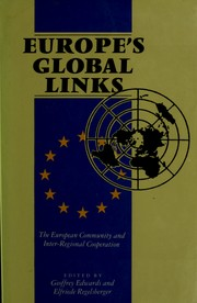 Cover of: Europe's Global Links